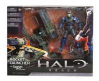 HALO REACH SERIES 3 - WARTHOG ROCKET LAUNCHER WITH SPARTAN JFO